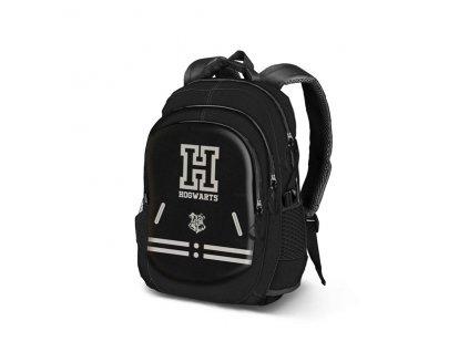 Harry Potter školní USB batoh Bradavice - Hogwarts černý
