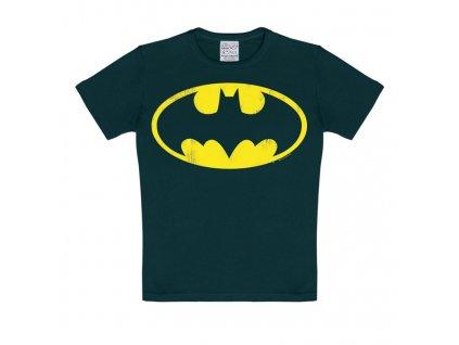 Dětské tričko Batman - černé