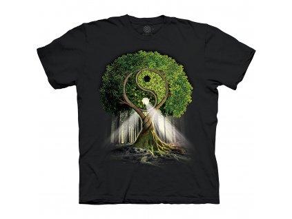 Tričko Ying Yang strom