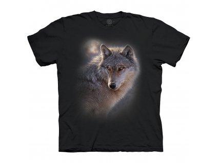 Tričko Dobrodružný vlk
