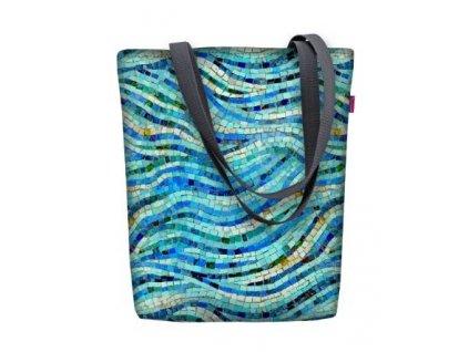 Dizajnová taška na rameno Sunny - Mozaika