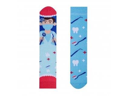 Veselé ponožky Zubař