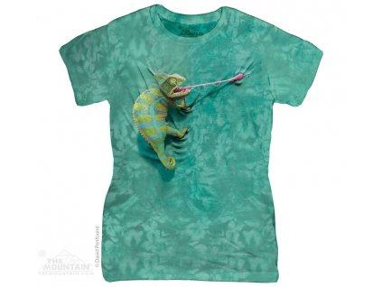 Dámské Tričko Chameleon