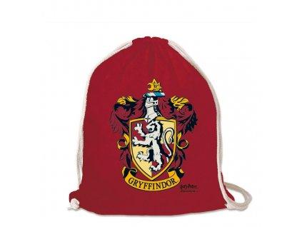 Harry Potter sportovní vak Nebelvír - červený