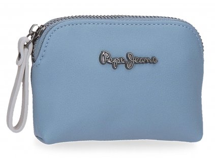 Dámská peněženka Pepe Jeans Zaida malá - modrá