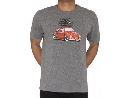 Tričko Road Trip - červený VW Beatle