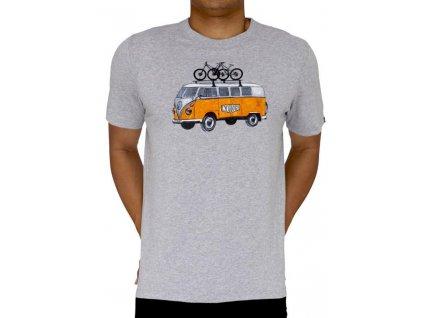 Tričko Road Trip - oranžový VW Bus