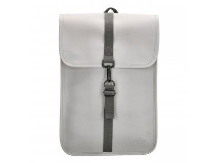 """Moderní batoh unisex Charm London Neville - 17,3 """" (43 cm) / 12L - šedý"""