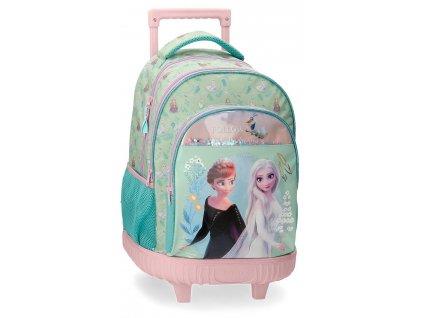 Batoh na kolečkách Frozen - FOLLOW YOUR DREAMS