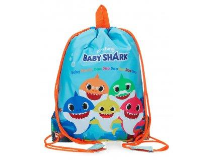 Pytlík na přezůvky Baby Shark Pinkfong