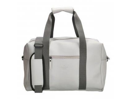 Cestovní / sportovní taška Charm London Neville - šedá