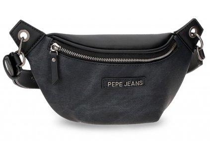 Dámská designová ledvinka Pepe Jeans JINA - černá