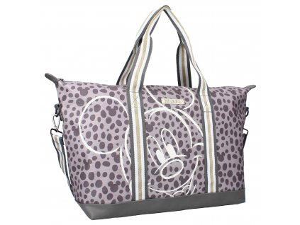 Praktická designová taška Disney Mickey Mouse - šedá