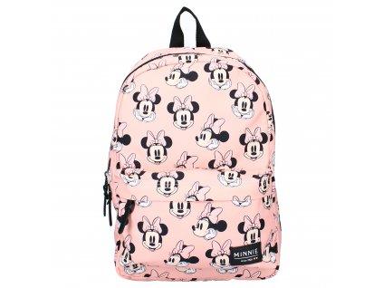 Udržitelný školní batoh Disney Minnie růžový