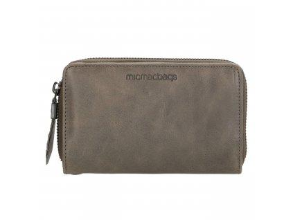 Dámská kožená peněženka Micmacbags - šedá