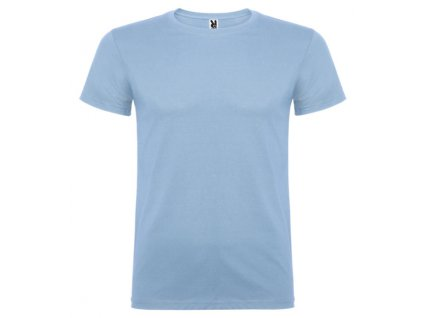 Pánské Tričko Nebesky Modrá