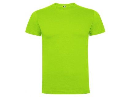 Pánské Tričko Světle Zelená