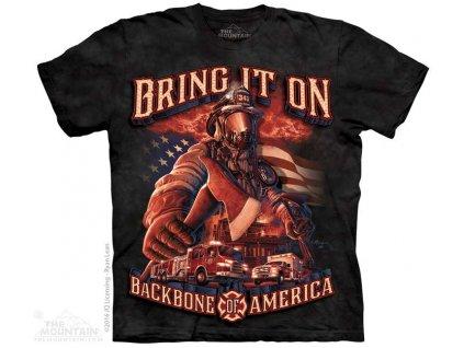 Tričko Hasič - Backbone America - 2017