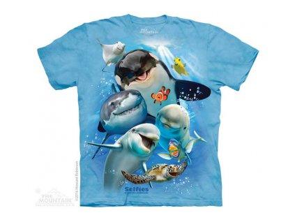 Dětské Tričko Oceán Selfie