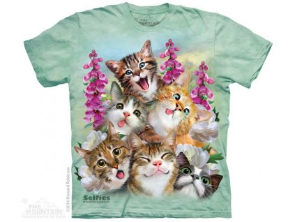 Tričko Kočičky Selfie