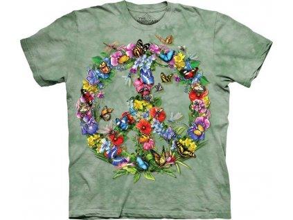 Tričko Motýlí znak míru