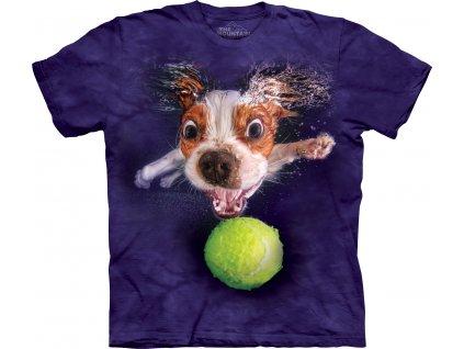 Dětské Tričko potápějící se Pes Monty
