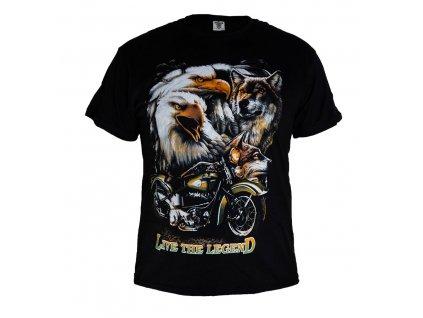 Tričko Orli Motorka a Vlk