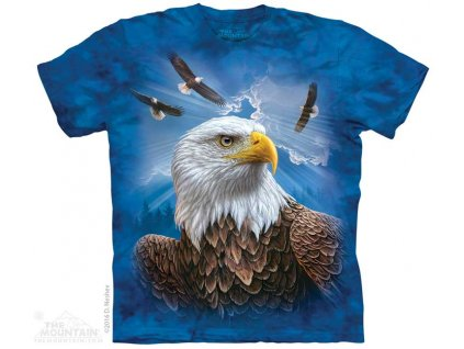 Modré Tričko s Orlem