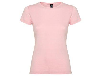 Holčičí Tričko Světle Růžové