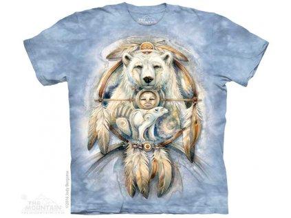 Tričko s medvědem a indiánem