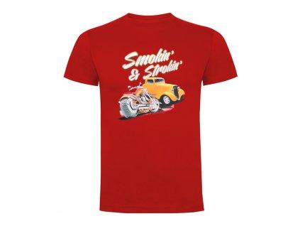 Tričko Smokin' & Strokin Červené