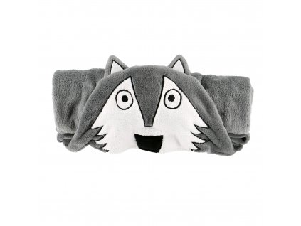 Dětská fleecová deka - Vlk