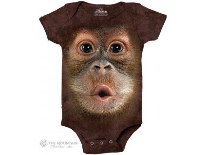 Dětské body Orangutan
