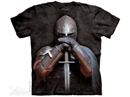 Tričko s potiskem rytíř