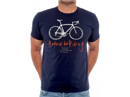 Tričko Rather Be Riding (Navy)