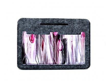 Organizér do kabelky - Tulipány