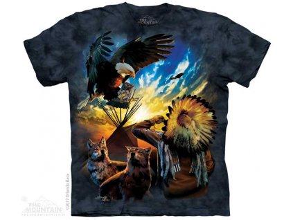 Tričko Indián Orel a Vlk