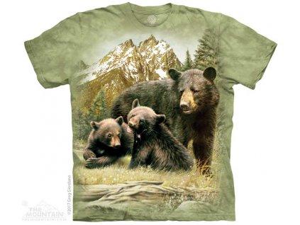 Tričko Medvědí Rodinka