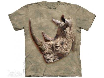Dětské Tričko Bílý Nosorožec