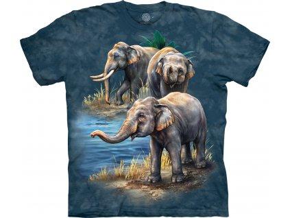 Dětské Tričko Asijský Slon