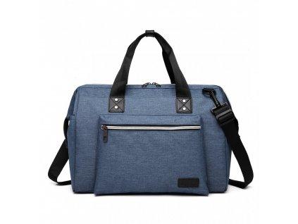 Mateřská cestovní taška - modrá