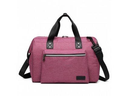 Mateřská cestovní taška - růžová