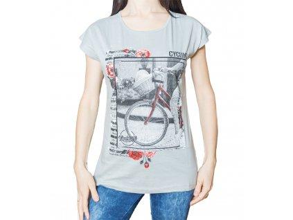 Dámské tričko s potiskem - Vintage Kolo