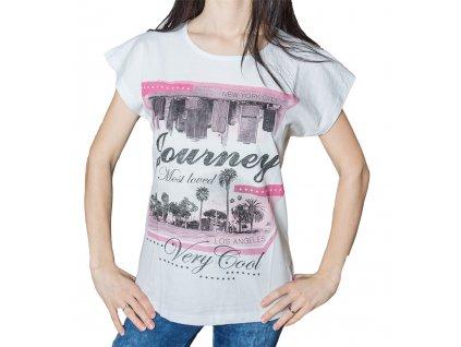 Dámské tričko s potiskem - Los Angeles