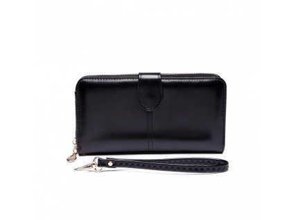 Dámská elegantní peněženka - černá Black