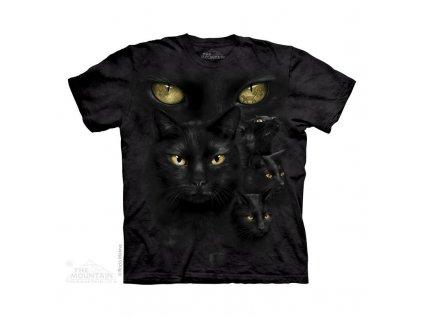 Tričko Černé kočičky