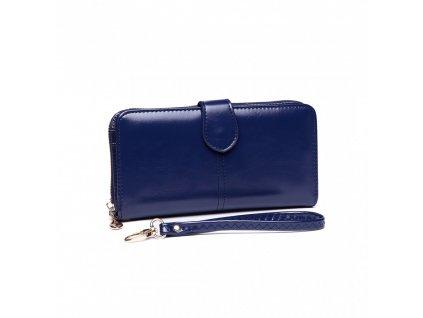 Dámská elegantní peněženka - modrá Navy