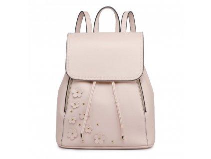 39f9ad55ca Elegantní batoh - Romantic - béžový