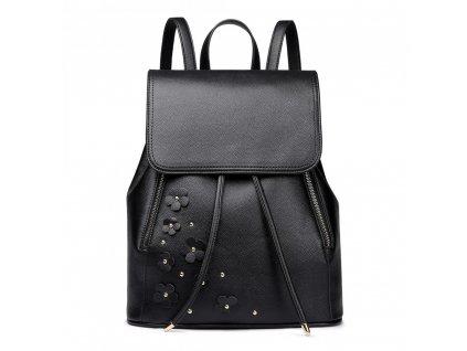 Elegantní batoh - Romantic - černý