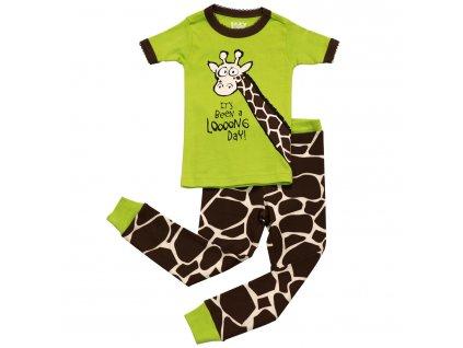 Dětské Pyžamo Žirafa - Looong Day - Holčičí